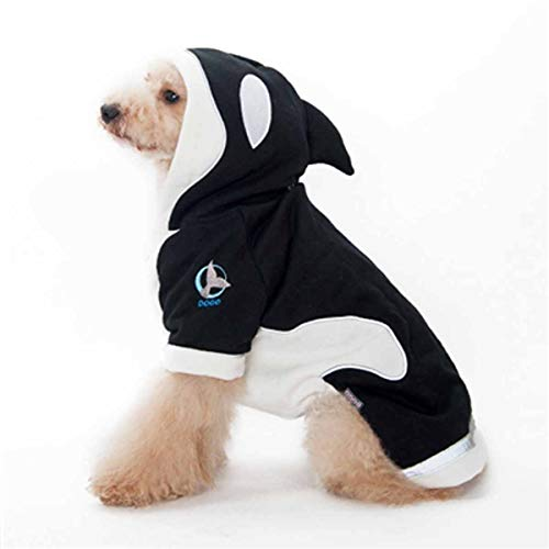 Killer Whale Dog Hoodie by Dogo