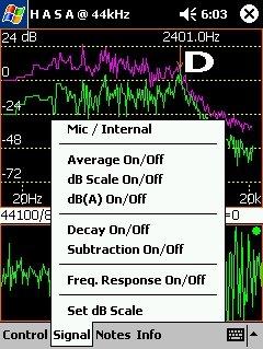 Handheld Audio Spectrum Analyzer (HASA)