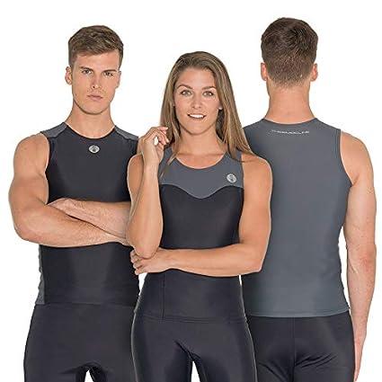 9f42eb1e5c3d Amazon.com: Fourth Element Thermocline Womens Vest Wetsuit/Black ...