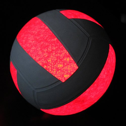 Glow Products Light Up Volleyball - Official Size Glowing LED Volleyball by Glow Products