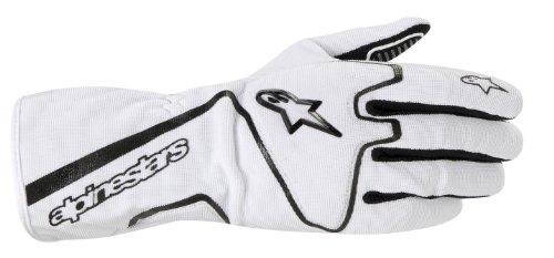Alpinestars (3552012-21-XL White/Black X-Large Tech 1-K Race Karting Gloves