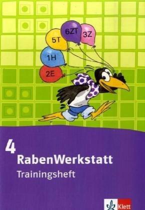 RabenWerkstatt: Trainingsheft 4. Schuljahr
