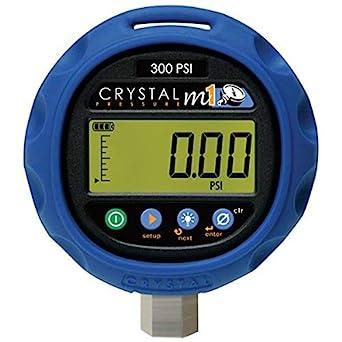 Crystal M1 300psi Digital Pressure Gauge 14 5 To 300 Psi Amazon Com Industrial Scientific