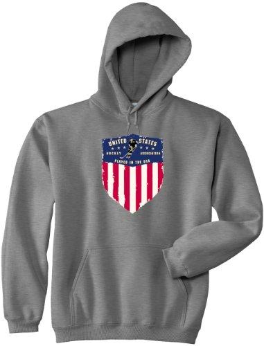 Hockey Hooded Sweatshirt USA Hoodie