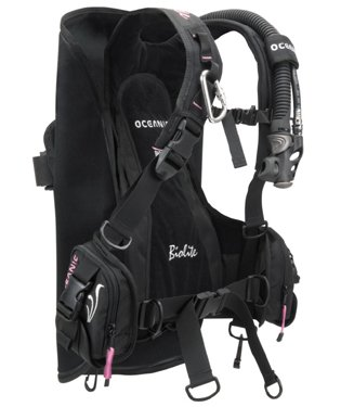 - OCEANIC BIOLITE LADIES TRAVEL BC/BCD ULTRA LIGHTWEIGHT WEIGHT INTEGRATED BUOYANCY COMPENSATOR (Small)