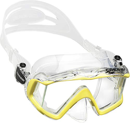 Cressi Pano 3, Clear/Yellow