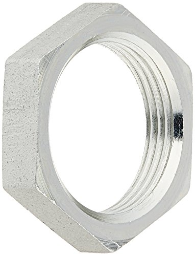 Bulkhead Locknut (Brennan Industries FS0306-16 Steel Bulkhead Lock Nut for O-Ring Face Seal Fitting, 1-7/16