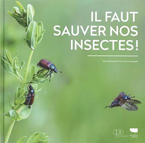 Amazon.fr - Il faut sauver nos insectes ! - Richard, Denis, Maquart,  Pierre-olivier - Livres