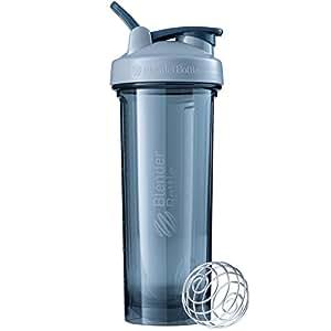 Blender Pro32 Shaker Bottle with Loop Handle, Pebble Grey, 946 ml Capacity