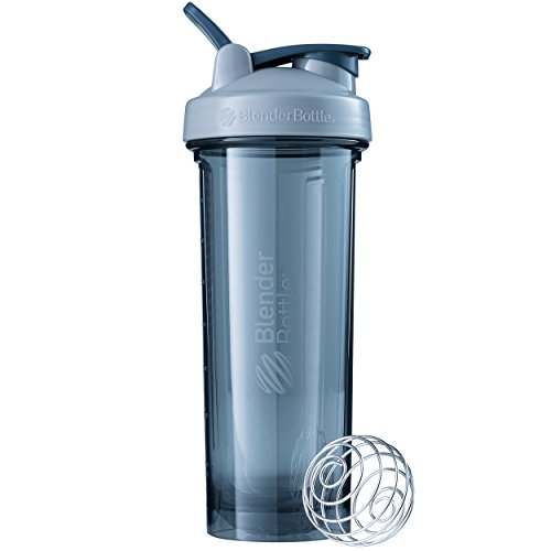BlenderBottle 500706 Pro Series Shaker Bottle, 32-Ounce, Pebble Grey