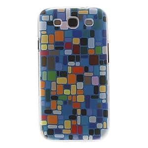 Conseguir Patrón Lump colorida cubierta del estuche duro de protección de plástico para el Samsung Galaxy S3 I9300