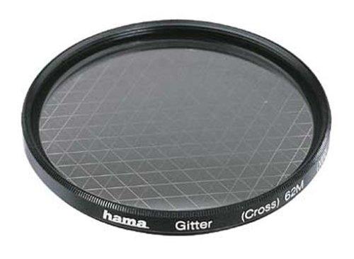 Hama Effekt-Filter, Sternfilter, 6-strahlig, 2-fach Vergütung, Für 52 mm Foto-Kameraobjektive, Gitter