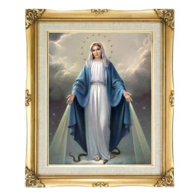 Our Lady of Grace Framed Art by Discount Catholic Store