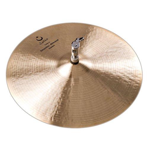 Istanbul Mehmet Cymbals Jazz Series N-HH15 Nostalgia Hi-Hat 15-Inch Cymbal ()