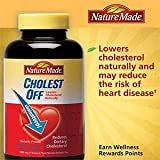 Nature Made Cholest-off 240 Caplets Cholesterol Formula (Pack of 3)