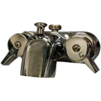 Barclay 205-S-CP Tub Converto Shower Spout with Handles by Barclay