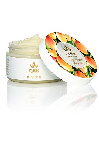 Cream Hawaiian Coconut Lip Gloss - Malie Organics Body Gloss - Mango Nectar