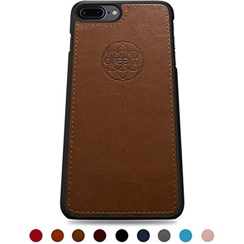Dreem Fibonacci TPU Case for iPhone 7-Plus & 8-Plus - Chocolate Brown