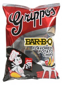 Grippo's BBQ Potato Chips (9-12oz Bags)