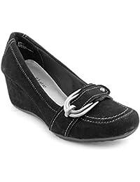 Sandro Women's Regular Suede Classic Slip On Chunky Heel...