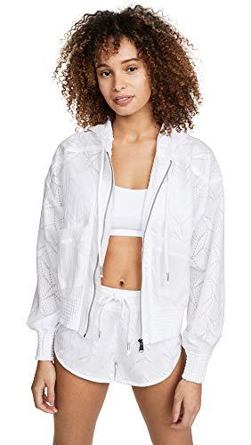 Free People Women's Movement Salt Spray Jacket, White, Small