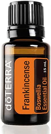 doTERRA Frankincense Essential Oil - Supports Healthy Cellular Function, Aroma Promotes Relaxing Feelings, Supports Healthy Immune and Nervous Function; For Diffusion, Internal, or Topical Use - 15 ml