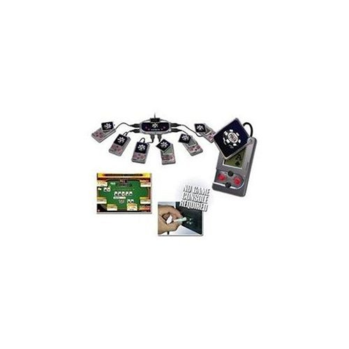 Excaliber Plug & Play Multi-Player TV Game World Series of Poker 10 Games in 1!!
