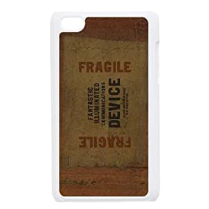 Fragile iPod Touch 4 Case White Protect your phone BVS_732264