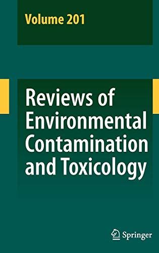 Reviews of Environmental Contamination and Toxicology 201
