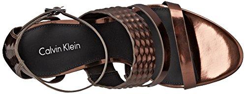 Dress Mayra Klein Calvin Women's Espresso Sandal x0HtE40Zqw