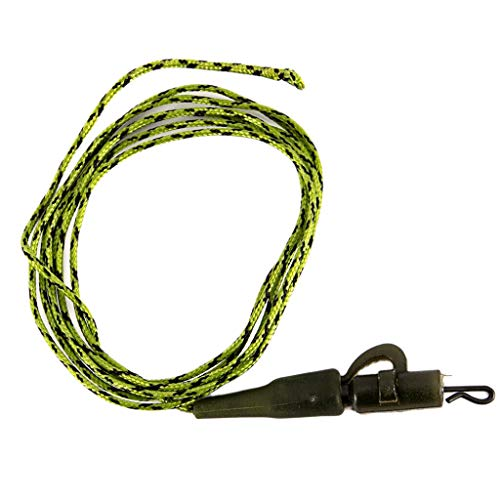 Fox Safety Lead Clips - Ameglia Lead-Core Carp Fishing Leaders, with Safety Lead Clip 45LB/91cm