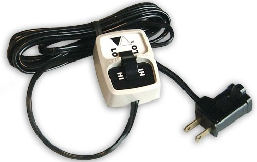 Cozy Products HI-LO Remote Control Power Switch for Temperature Control