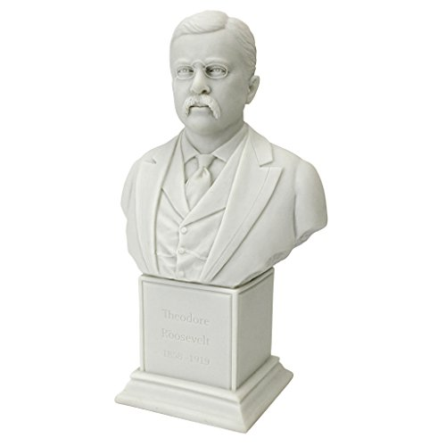 (Design Toscano President, Jr. (1858-1919) Pres Theodore Roosevelt Statue)