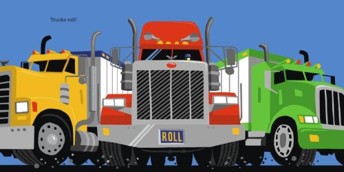 Trucks Roll! (Richard Jackson Books (Atheneum Hardcover))
