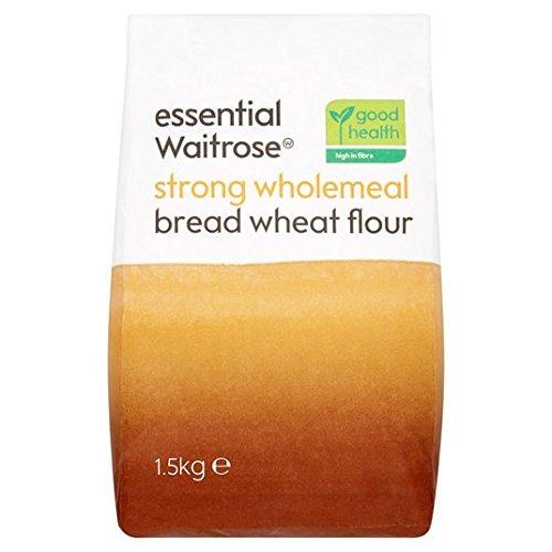 Harina de fuerza integral pan de harina de 1,5 kg Waitrose esencial: Amazon.es: Alimentación y bebidas