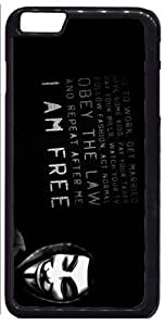 Anonymous I Am Free Apple iPhone 6 Plus iPhone 6+ Case by Maris's Diary