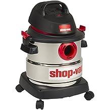Shop-Vac 5986000 5-Gallon 4.5 Peak HP Stainless Steel Wet Dry Vacuum