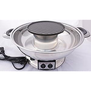 City ST Shabu Shabu Hot Pot w/ BBQ Grill