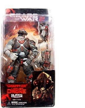 NECA Gears of War Series 3 Locust Drone Action Figure [Grappler] (Gears Of War 3 Best Guns)