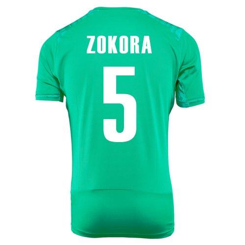 に付けるルー慣れるPUMA ZOKORA #5 IVORY COAST AWAY JERSEY WORLD CUP 2014/サッカーユニフォーム コートジボワール アウェイ用 ワールドカップ2014 背番号5 ゾコラ