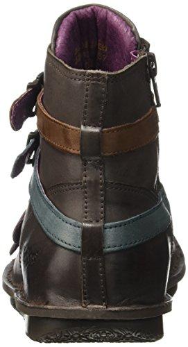 ... Kickers Waxing, Zapatillas de Estar por Casa para Mujer Marron (Marron  Foncé Multico) ...