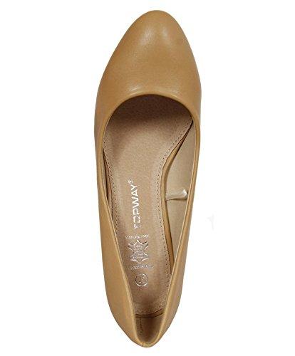 Zapatos de tacón de Mujer URBAN B041150-B7200 CAMEL