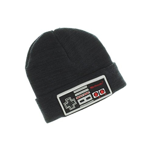 nintendo-official-nes-controller-big-boys-knit-cuff-beanie-hat