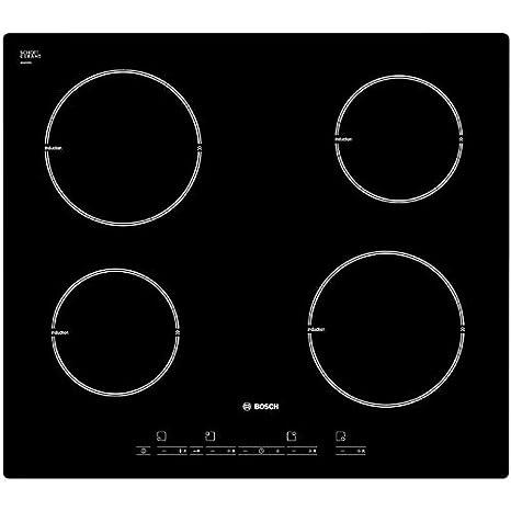 Bosch PIA611T66J Incasso A induzione Nero piano cottura: Amazon.it ...