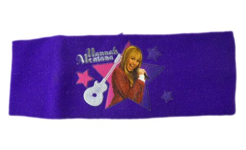 Disneys Hannah Montana Fashion (Disney Hannah Montana Headband - Hannah Montana Purple Head Wrap)