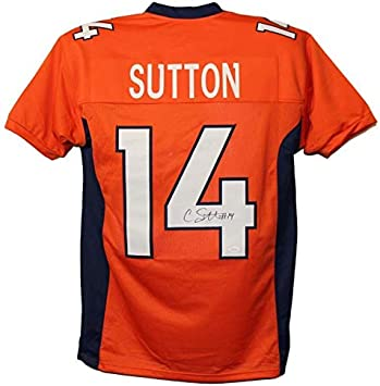 Outerstuff Courtland Sutton Denver Broncos Orange Youth 8-20 Home Player Jersey