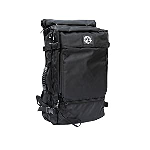 Rogue Camera Bag Black Nylon - Camera Gear, Lenses, Laptop Backpack Removable 6-Space Camera Compartment 15-Inch Laptop Holder - 31.35-Liter Multi Pocket Water Resistant Bag Durable Nylon Material