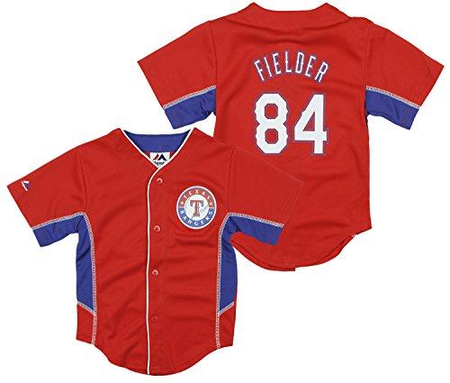Outerstuff Texas Rangers MLB Little Boys Prince Fielder # 84 Jersey - Red (2T)