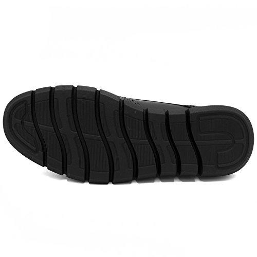 Fashion Smooth Nautica Shoe Sneaker Wingdeck Black Men's Oxford R70nIqZwx0