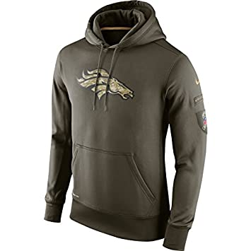2015 Nike Denver Broncos NFL Salute to Service Hoodie Mens 2XL (XXL)  Runs  One Size Small   Amazon.ca  Sports   Outdoors 5498dc1b2